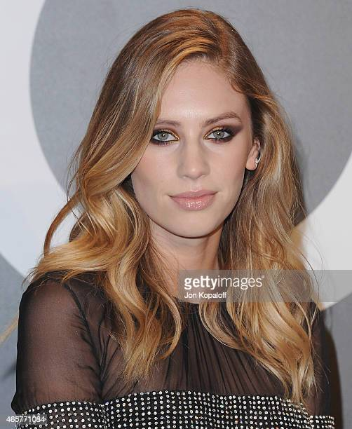 Dylan Penn arrives at Tom Ford Autumn/Winter 2015 Womenswear Collection Presentation at Milk Studios on February 20 2015 in Los Angeles California