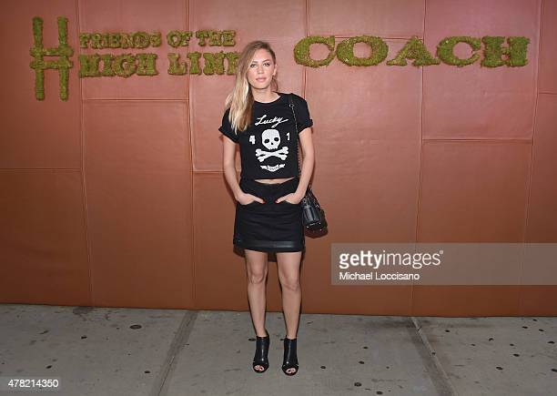 Dylan Penn attends the 5th Annual Coach and Friends of the High Line Summer Party at the High Line on June 23 2015 in New York City