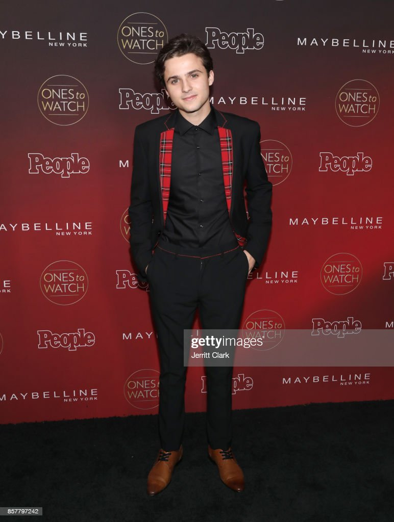 Dylan Schmid attends People's 'Ones To Watch' at NeueHouse Hollywood on October 4, 2017 in Los Angeles, California.