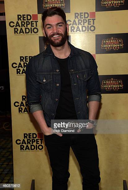Dylan Scott attends Red Carpet Radio presented by Westwood One at the American Country Countdown Awards on December 12 2014 in Nashville Tennessee