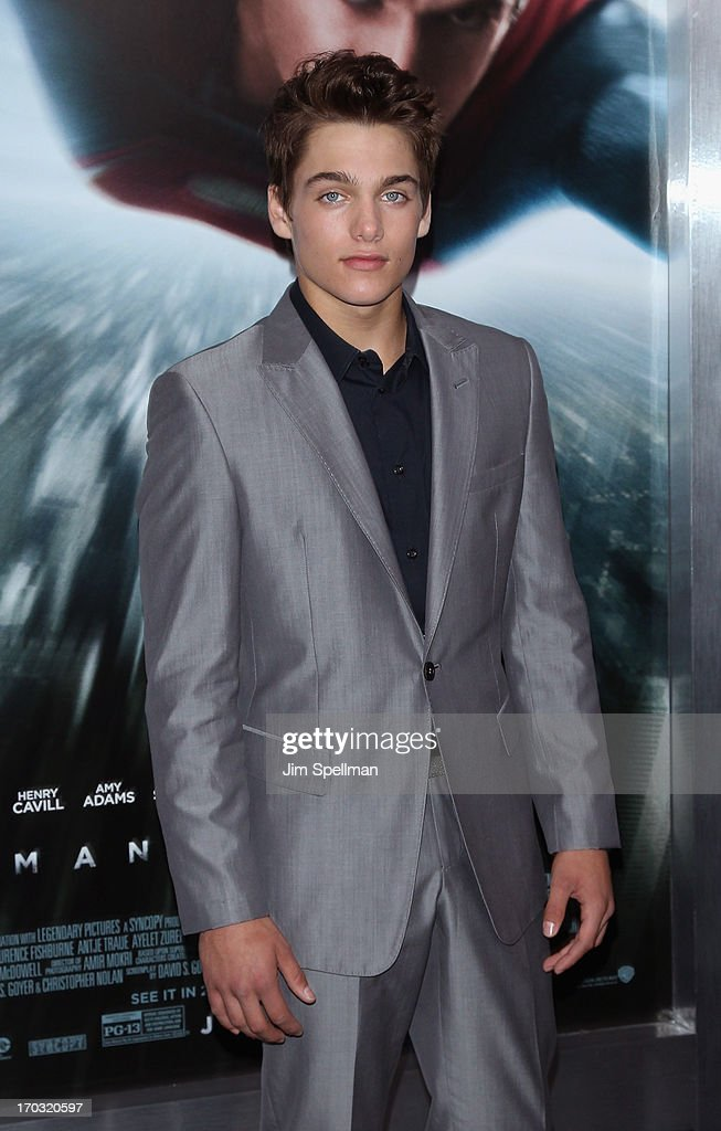 Dylan Sprayberry attends the 'Man Of Steel' World Premiere at Alice Tully Hall at Lincoln Center on June 10, 2013 in New York City.