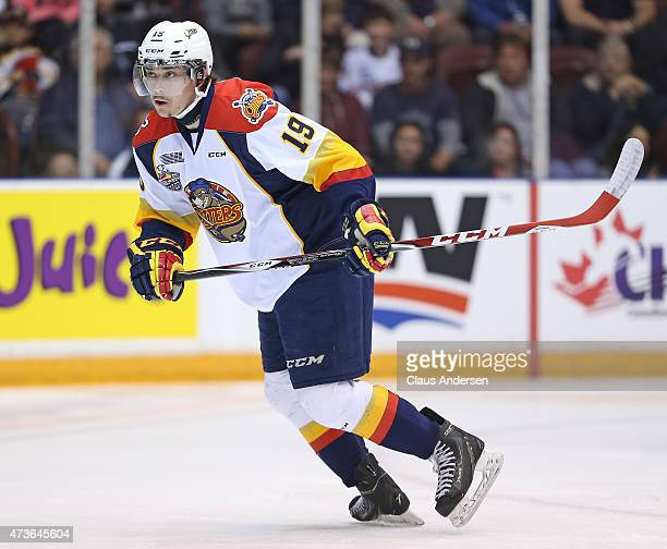 Dylan Strome of the Erie Otters skates against the Oshawa Generals in Game Five of the OHL Robertson Cup Championship Final at General Motors Centre...