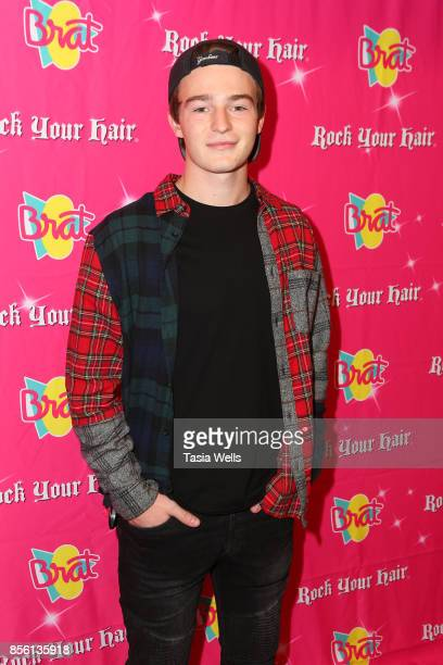 Dylan Summerall at Rock Your Hair Presents Rock Back to School Concert Party on September 30 2017 in Los Angeles California