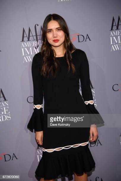 Dylana Suarez arrives at the American Apparel Footwear Association's 39th Annual American Image Awards 2017 on April 24 2017 in New York City