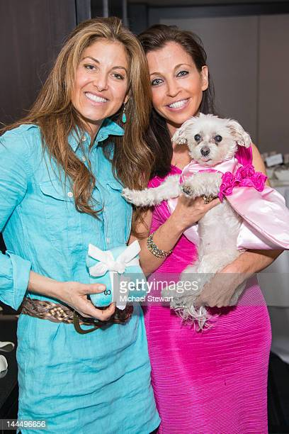 Dylan's Candy Bar CEO Dylan Lauren and Animal Fair founder Wendy Diamond attend Lucky Diamond's Bridal shower at the Muse Hotel on May 14 2012 in New...
