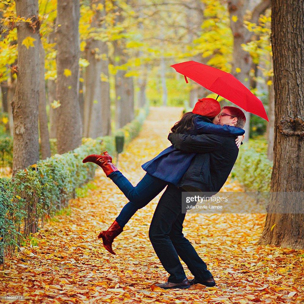 Dynamic hug : Stock Photo