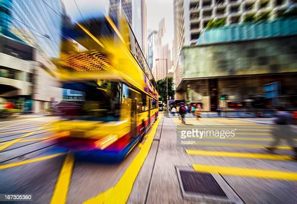 Dynamische, moderne Stadt