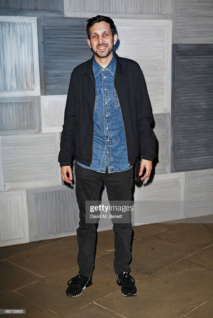 Dynamo arrives at a party hosted by Instagram's Kevin Systrom and Jamie Oliver. This is their second annual private party, taking place at Barbecoa on March 9, 2015 in London, England.