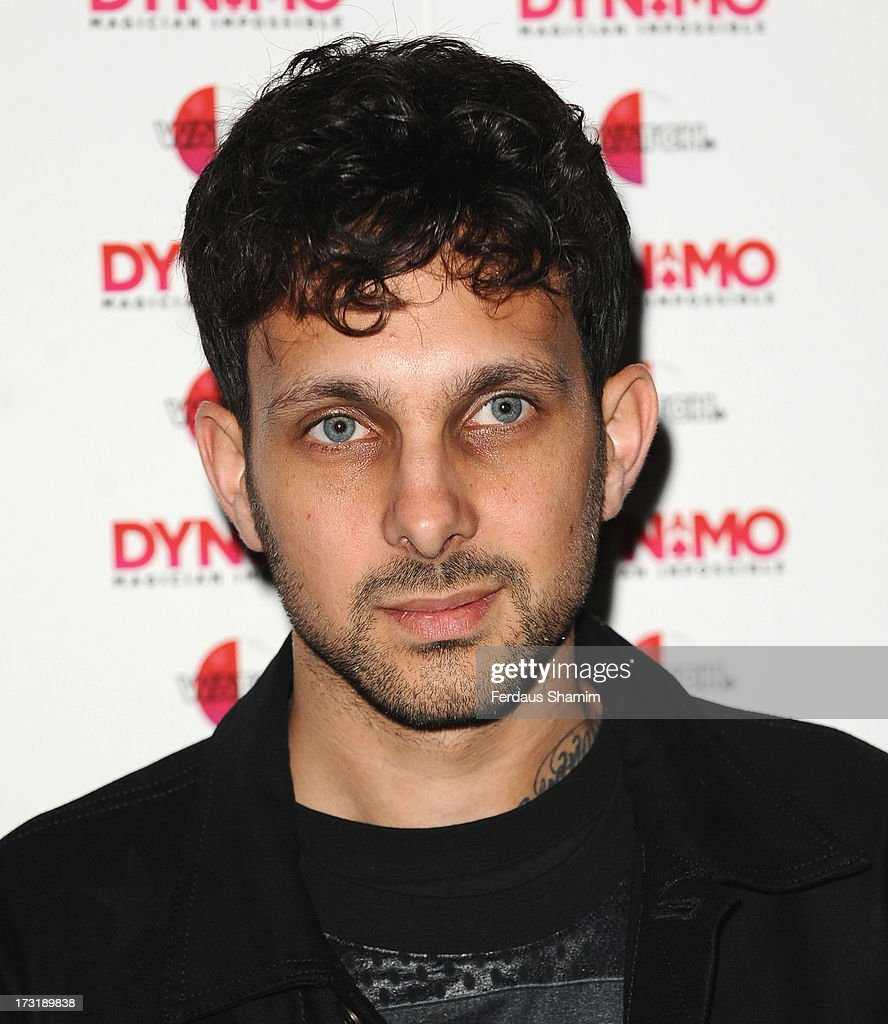 Dynamo attends Dynamo's secret London gig on July 9, 2013 in London, England.