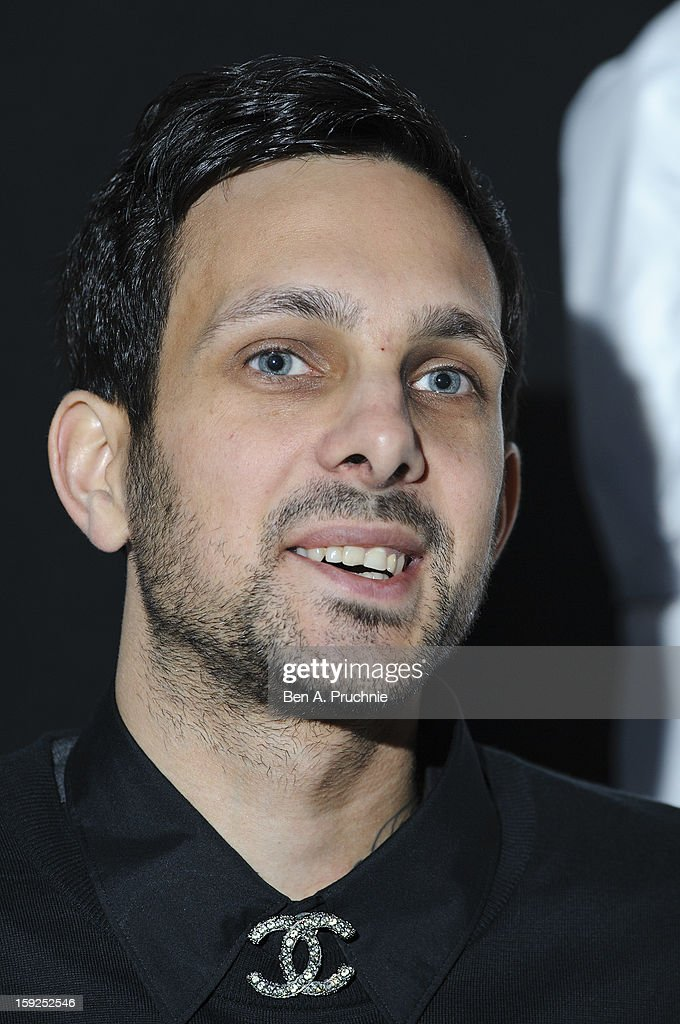Dynamo (Born Steven Frayne) attends the Lynx L.S.A launch event at Wimbledon Studios on January 10, 2013 in London, England.