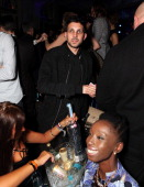 Dynamo is seen at Warner Belvedere Post BRIT Awards party at The Savoy Hotel on February 19 2014 in London England