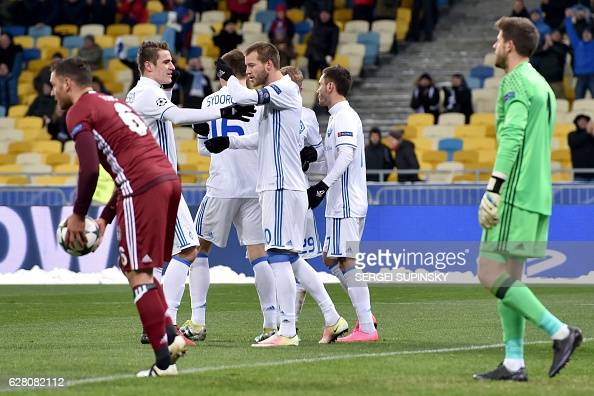 FFBL-EUR-C1-DYNAMO-BESIKTAS : News Photo