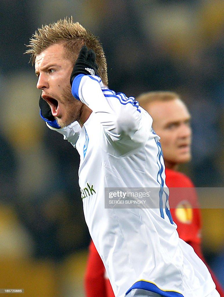 FC Dynamo Kyiv v FC Thun UEFA Europa League s and