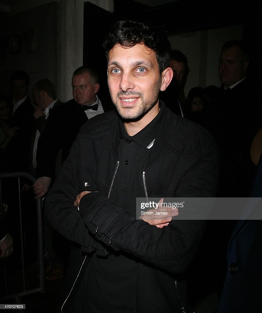 Dynamo sighted at the Warner Music after party at The Savoy on February 19, 2014 in London, England.
