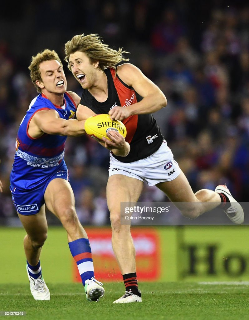 AFL Rd 19 - Western Bulldogs v Essendon