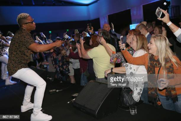 Dyson Knight of Baha Men performs onstage at the Buddy Lee Attractions party during the IEBA 2017 Conference on October 16 2017 in Nashville Tennessee