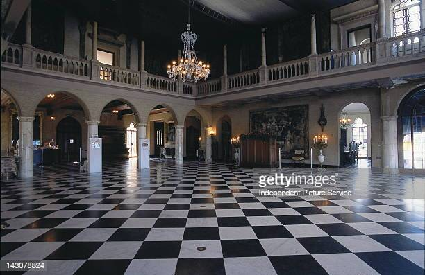 C d'Zan Ringling Mansion ballroom Sarasota Florida the villa built in 19241926 by John Ringling founder of the Ringling Brothers Circus and was built...