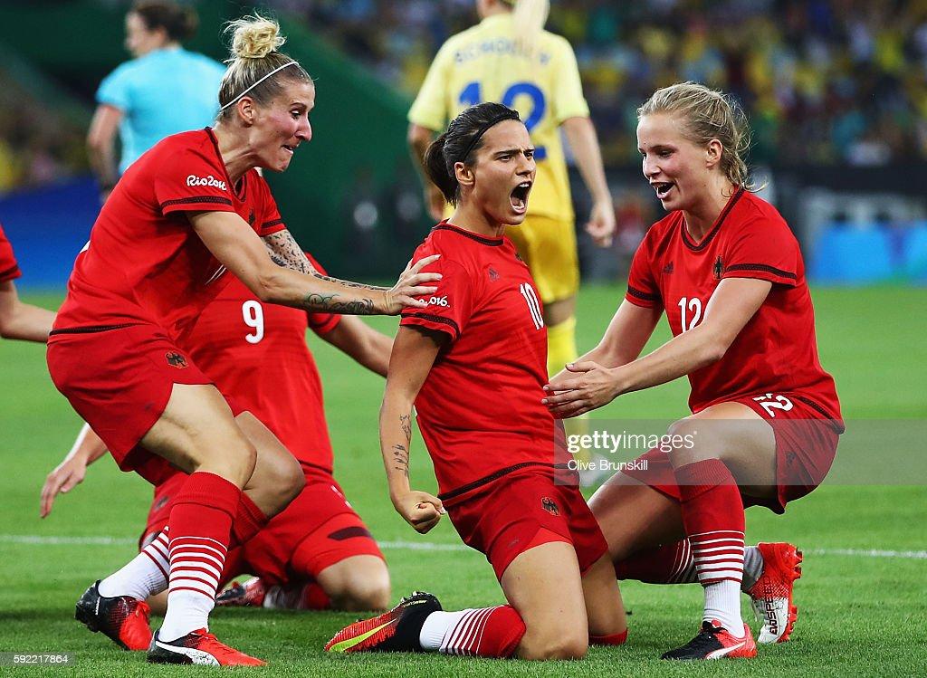 Sweden v Germany: Women's Football - Olympics: Day 14