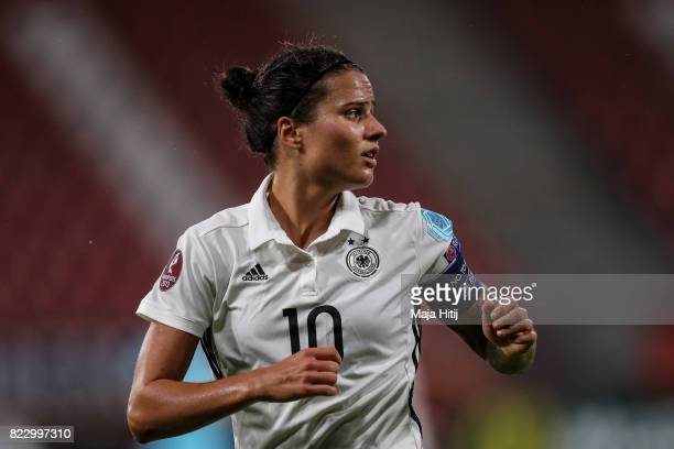Dzsenifer Marozsan of Germany looks on during the Group B match between Russia and Germany during the UEFA Women's Euro 2017 at Stadion Galgenwaard...