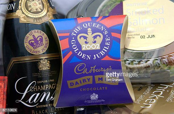 Each Guest Attending The 'prom At The Palace' Classical Concert At Buckingham Palace Receives Courtesy Of The Queen A Golden Jubilee Cool Bag Which...