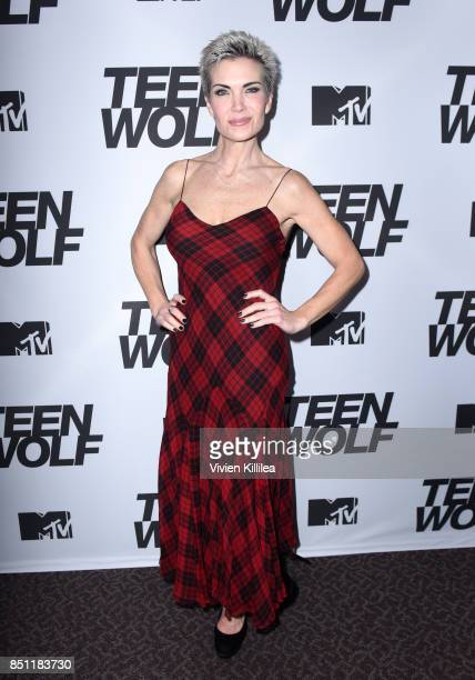 Eaddy Mays at the MTV Teen Wolf 100th episode screening and series wrap party at DGA Theater on September 21 2017 in Los Angeles California