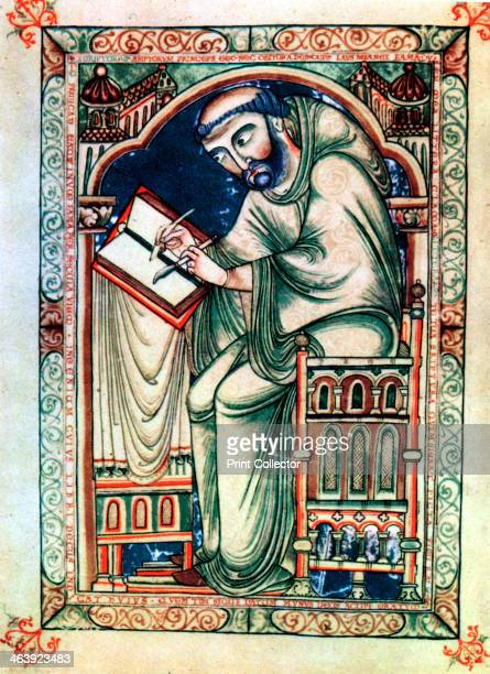 Eadwine the Scribe c mid 12th century From a psalter written at Christ Church Canterbury about the middle of the 12th century by Eadwine a monk of...