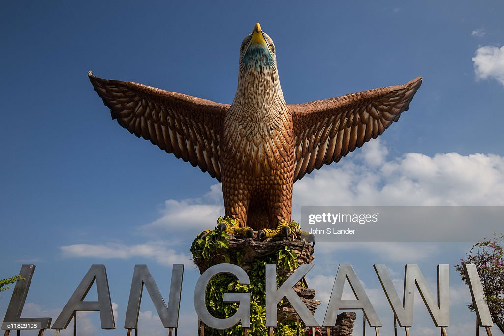 Langkawi Kuah Kedah Malaysia Eagle Square Dataran Lang Is A Pictures Getty Images