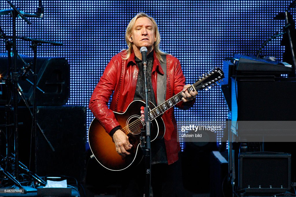 Eagles - Band, rock music, USA - Singer and Guitarist Joe Walsh performing in Berlin, Germany, Waldbuehne