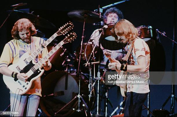 Eagles Don Felder Don Henley and Joe Walsh live at Nippon Budokan Tokyo September 17 1979