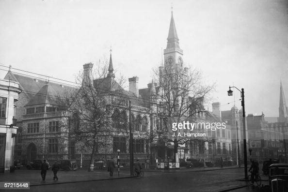 Ealing town hall London 2nd January 1947