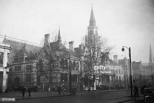 Ealing town hall London 2nd January 1947