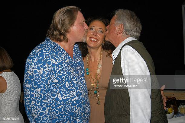 Eames Yates Tatiana Platt and Christian Wolffer attend Party to Celebrate the Upcoming Marriage of Pamela Taylor and Eames Yates Hosted by Tatiana...