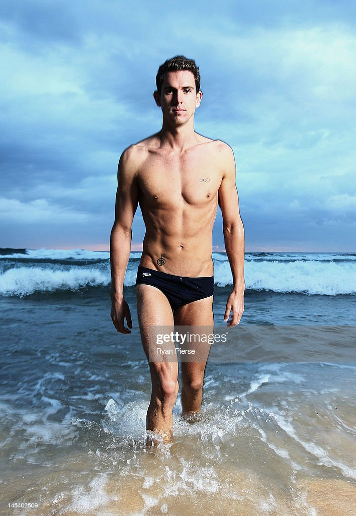 <a gi-track='captionPersonalityLinkClicked' href=/galleries/search?phrase=Eamon+Sullivan&family=editorial&specificpeople=769294 ng-click='$event.stopPropagation()'>Eamon Sullivan</a> of Australia poses during an Australian swimming portrait session on Manly Beach on March 25, 2012 in Sydney, Australia.