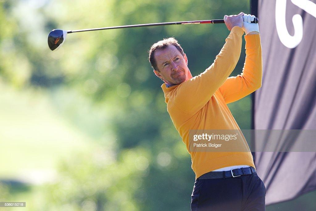 Eamonn Brady (Clontarf Golf Club) at Carton House Golf Club on May 31, 2016 in Maynooth, Ireland.