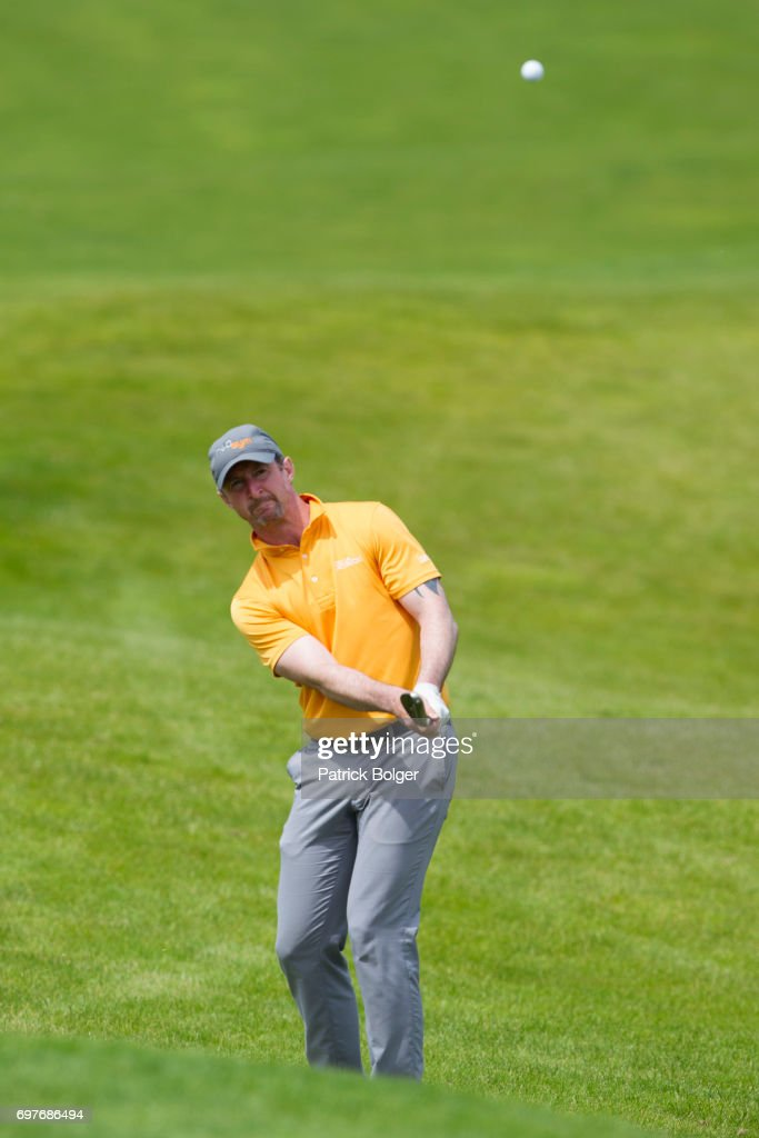 Eamonn Brady from Clontart Golf Club during the PGA Lombard Trophy at Carton House Golf Club on June 19, 2017 in Maynooth, Ireland.