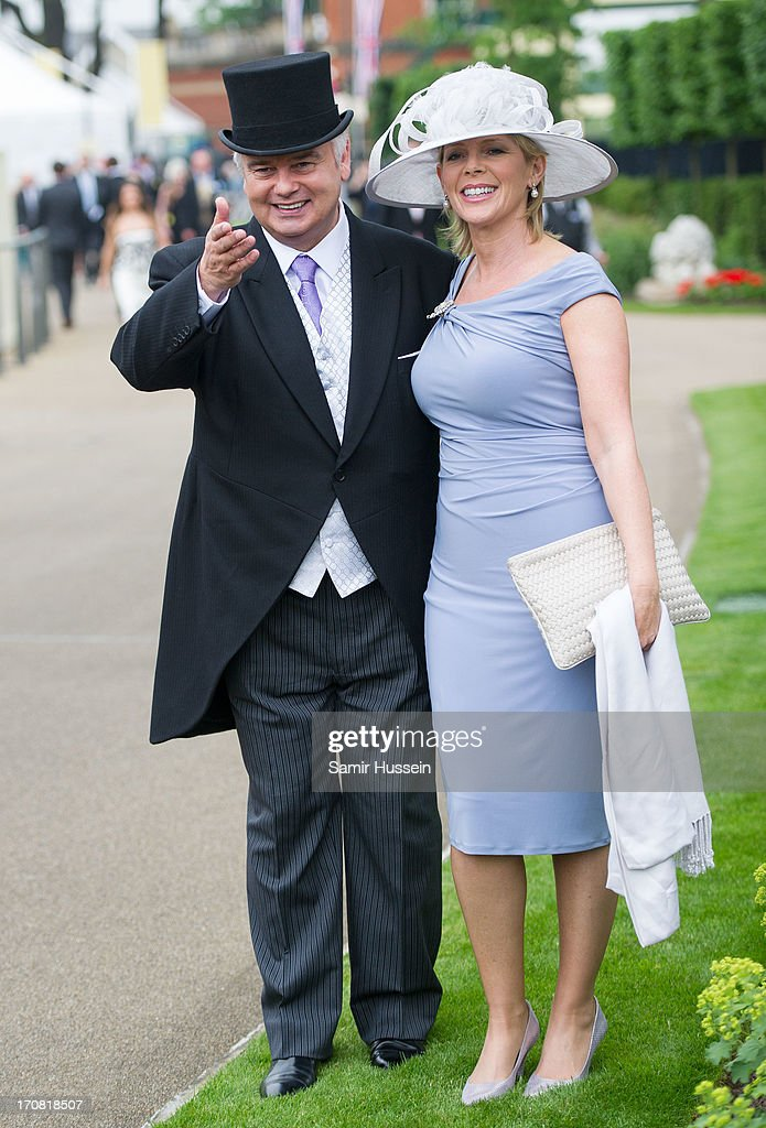 <a gi-track='captionPersonalityLinkClicked' href=/galleries/search?phrase=Eamonn+Holmes&family=editorial&specificpeople=240732 ng-click='$event.stopPropagation()'>Eamonn Holmes</a> and Ruth Langsford attend day 1 of Royal Ascot at Ascot Racecourse on June 18, 2013 in Ascot, England.