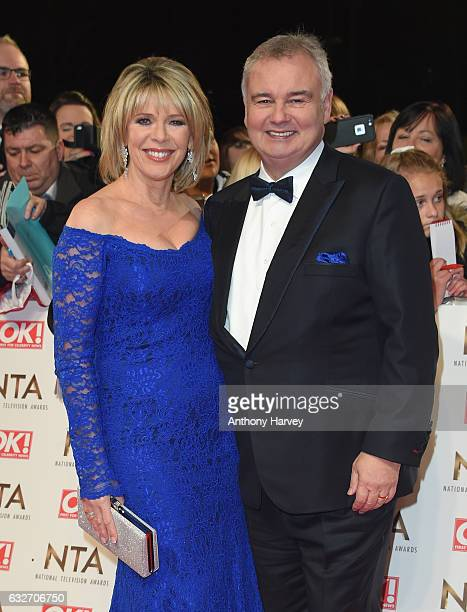 Eamonn Holmes and Ruth Langsford attends the National Television Awards on January 25 2017 in London United Kingdom