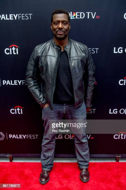 Eamonn Walker attends the PaleyFest NY 2017 'Oz' reunion at The Paley Center for Media on October 15 2017 in New York City