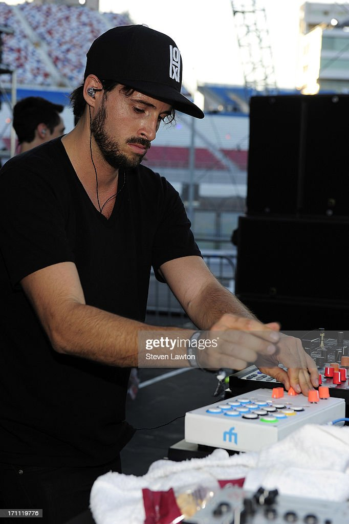 DJ Ean Golden performs at the 17th annual Electric Daisy Carnival at Las Vegas Motor Speedway on June 21, 2013 in Las Vegas, Nevada.