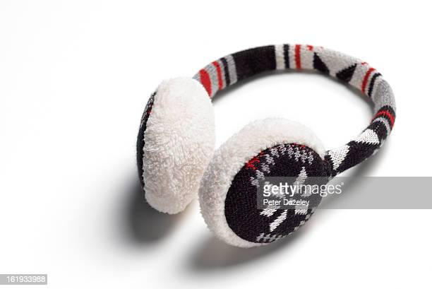 Ear muff with copy space