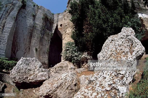 Ear of Dionysius Syracuse Sicily Italy