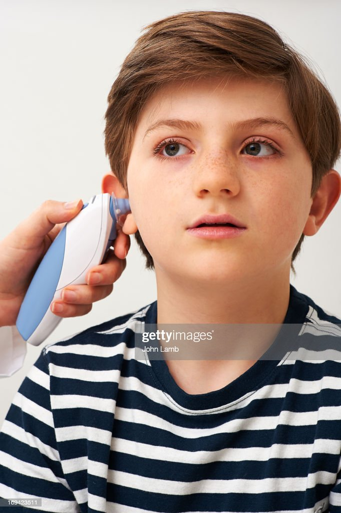 Ear Thermometer : Stock Photo