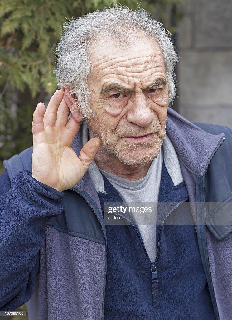 earing problem : Stock Photo