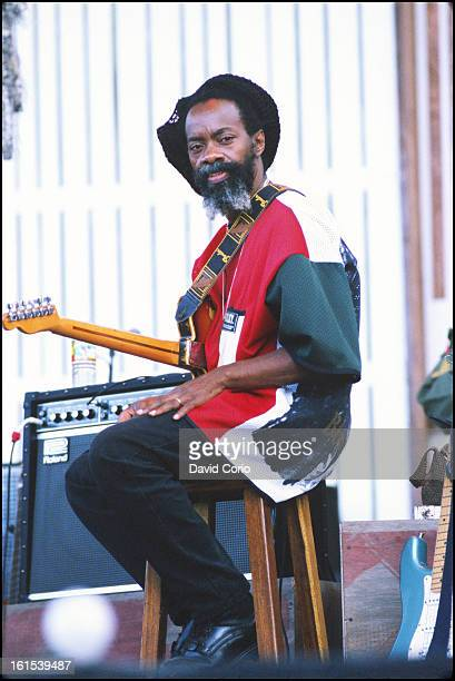 Earl 'Chinna' Smith performing at Prospect Park Brooklyn New York 19 July 1998