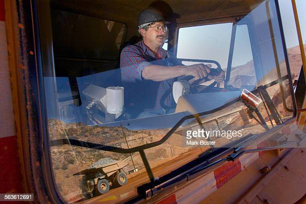 ––Earl Laney is an AA–Truck Driver at the Phelps Dodge Morenci Copper Mine in Morenci Arizona Laney drives a 260 ton haul truck moving the copper ore...