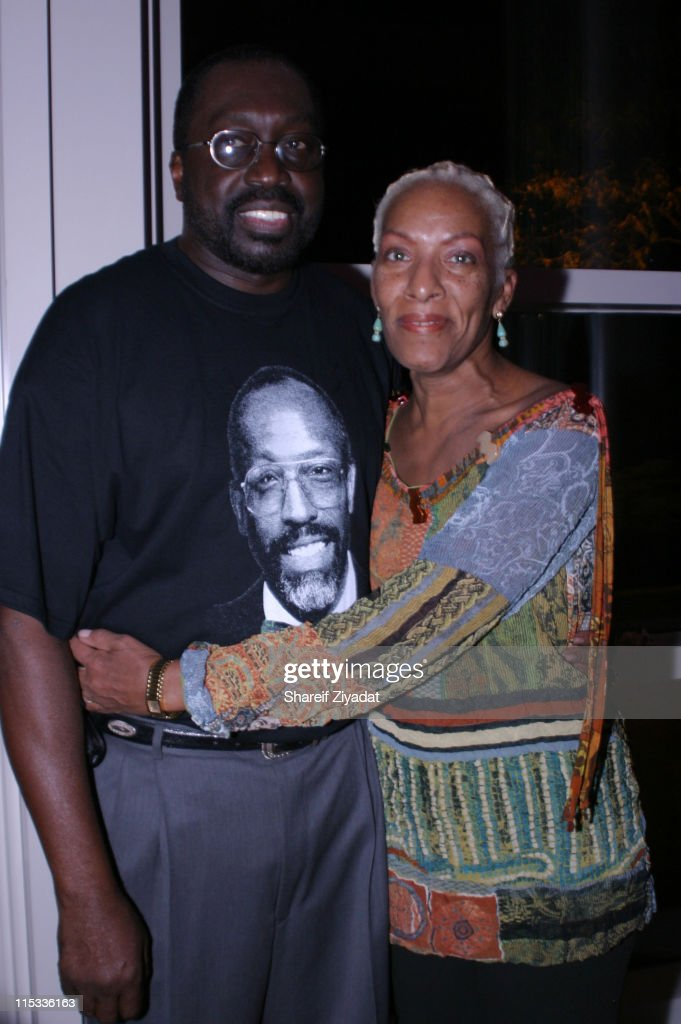 Earl Monroe and Marita Monroe during Grand Opening of Earl Monroe's Restaurant in New York City October 31 2005 at Earl Monroe's in New York City New...