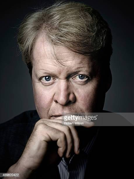 Earl Spencer Charles Spencer is photographed at his Althorp estate for the Times on July 1 2104 near Daventry England