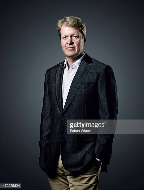 Earl Spencer Charles Spencer is photographed at his Althorp estate for the Times on July 1 2104 in Daventry England