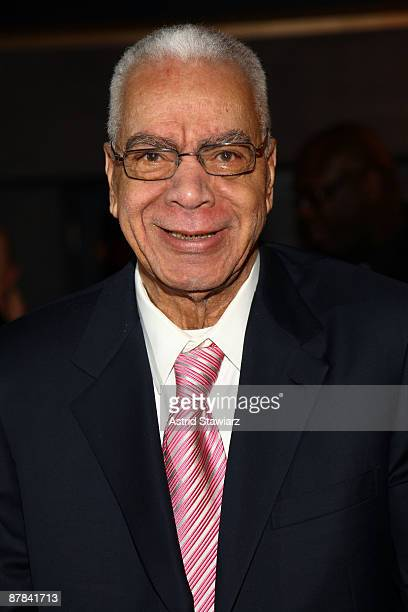 Earle Hyman attends the 54th Annual Village Voice Obie Awards at Webster Hall on May 18 2009 in New York City