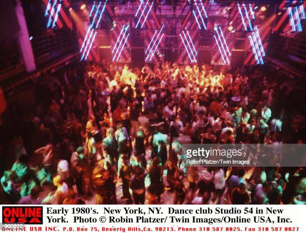 Early 1980's New York NY Dance club Studio 54 in New York